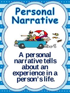 Personal Narrative Definition